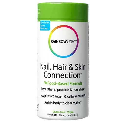 , Hair & Skin Connection, Beauty Support Healthy Collagen Production and Strong, Lustrous Nails and Hair with Silica, MSM, Horsetail Herb and Biotin, Vegan, Gluten-Free, 60 Tablets (Silica Complex 60 Tablets)