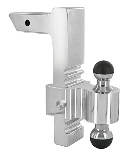 Andersen Manufacturing, Inc. 3417 2'' X 2 5/16'' Greaseless Rapid Hitch with 10'' Drop by Andersen Hitches