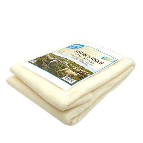 Pellon Wool Batting Crib 45in X 60in, Cream/White ()