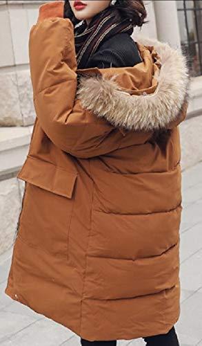 Jacket Outdoor Faux Parka Warm Long Women's security Fur Coats Down Winter 2 Hoodie 0vq0Z8I