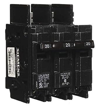 Circuit Breaker 20 AMP Single Pole Type BQ ITE//Siemens
