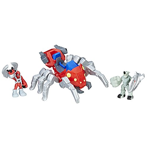 Playskool Heroes Marvel Super Hero Adventures Spider-Man with Spider Bot (Marvel Spider Heros)