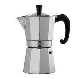 Bellemain 6-Cup Stovetop Espresso Maker Moka Pot made by EPI