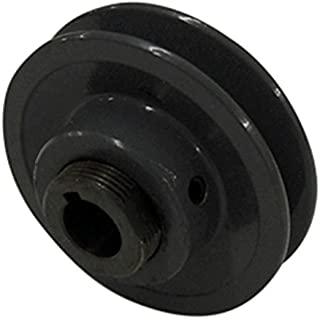 "product image for 1-1/8"" Fixed Bore 2 Groove Variable Pitch Pulley 3.5"" OD"