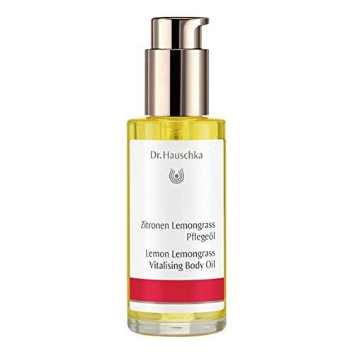 Lemon Hauschka Moisturizer Body - Dr Hauschka Lemon Lemongrass Body Oil 75ml (PACK OF 4)