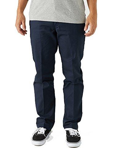 (Dickies Men's 67 Collection - Slim Fit Industrial Work Pants Dark Navy 30 32)