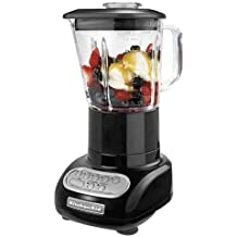 KitchenAid 5-Speed Blender with Glass Blender Jar, Onyx Black