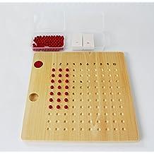 Montessori Multiplication Bead Board by PinkMontessori