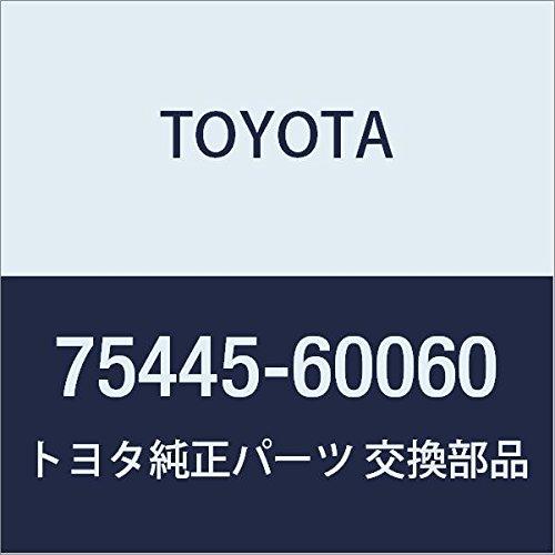 TOYOTA 75445-60060 Door Name Plate