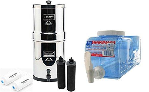 Big Berkey Bk4x2 Countertop Water Filter System With 2