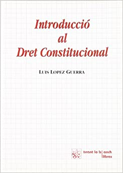Book Introducció al dret constitucional