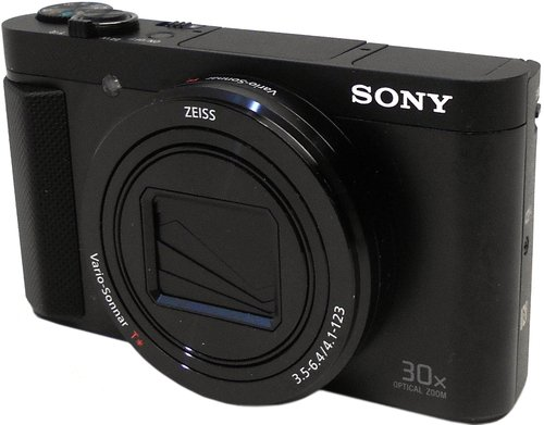 Sony Cyber-shot HX80 18.2 Megapixel Bridge Camera - Black - 3