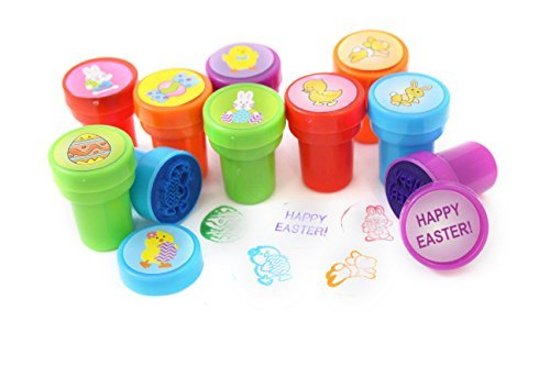 Plastic Happy Easter Stampers