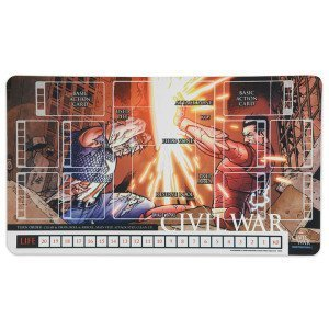 Dice Masters Marvel Civil War Playmat