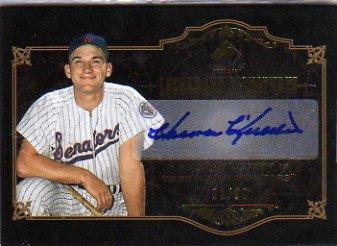 2007 SP Legendary Cuts Legendary Signatures #HK2 Harmon Killebrew Autograph Card Serial #'d/90