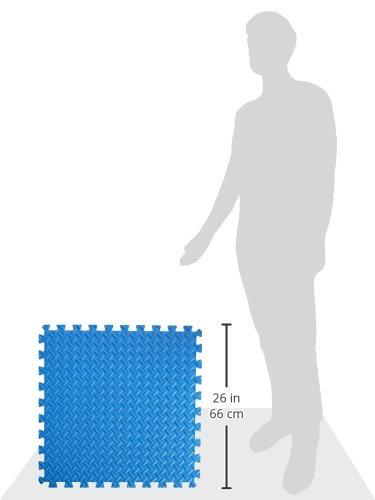 Prosourcefit Puzzle Exercise Mat Eva Foam Interlocking