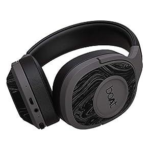 boAt Rockerz 550 Over-Ear Wireless Headphone with Ergonomic Aesthetics, Plush Padded Earcups, Immersive Audio, Bluetooth…