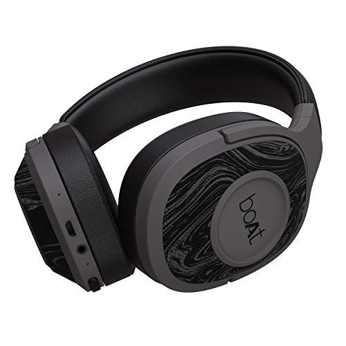 boAt Rockerz 550 Over-Ear Wireless Headphone (Black)