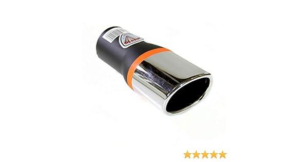 Autohobby 640 - Embellecedor de tubo de escape, universal, de ...
