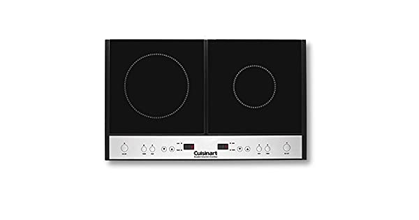 Amazon.com: Cuisinart - Placa de inducción doble, Cuisinart ...