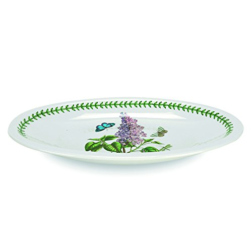 Portmeirion Botanic Garden Low Oval Server, Medium (Dish Low Oval Serving)