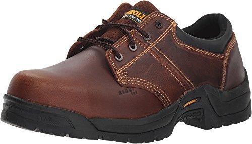 (Carolina Men's Steel Broad Toe ESD Oxford,Dark Brown Leather,US 12 D)