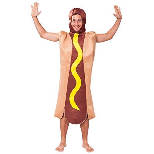 Bristol Novelty AC493 Hot Dog Costume, One Size ()