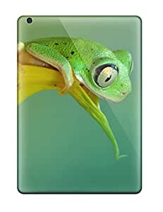 Hot Premium a Curious Frog Case For Ipad Air- Eco-friendly Packaging
