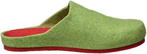 Dr. Brinkmann 320476 - Zapatilla de estar por casa Mujer Verde - verde (verde)