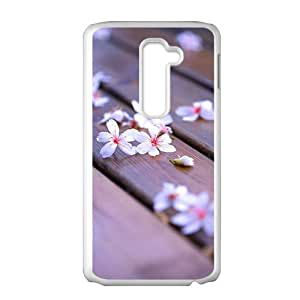 Beautiful flowers lovely phone case for LG G2