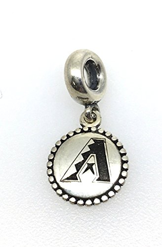 791169-G001 Pandora Sterling Silver - Arizona Diamondbacks Hanging Charm