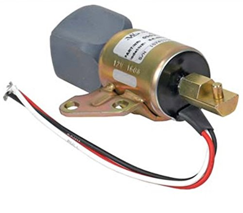 New Shut Down Solenoid For Kubota D722, D902 & Z482 Engine Applications, Replaces SyncroStart SA4899-12 1756ES-12SULB1S5 -  EMS Global Direct, FCS1000