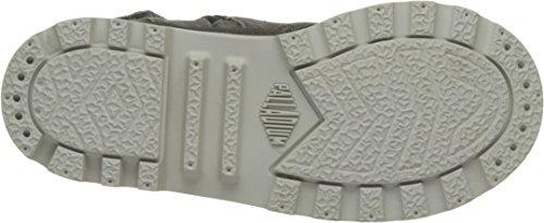 Palladium 53459, Zapatillas Altas de Tela Infantil Gris (Pavement/Citadel/Silver Birch)