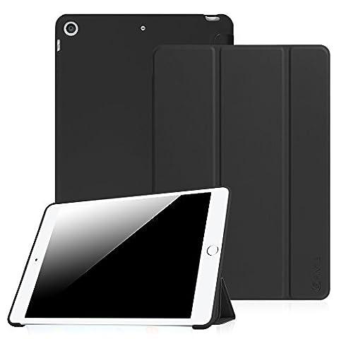 Fintie Case for iPad Mini 3 / 2 / 1 - Slim Lightweight Tri-Fold SmartShell with Soft Gel TPU Back Cover Supports Auto Wake / Sleep for Apple iPad Mini 1 / Mini 2 / Mini 3, (Ipad 3 Soft Gel Case)
