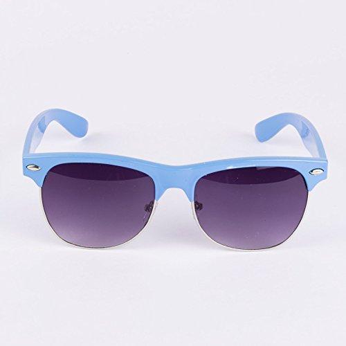 De Unies Turquoise Lunettes Soleil Browline gw8BTqO