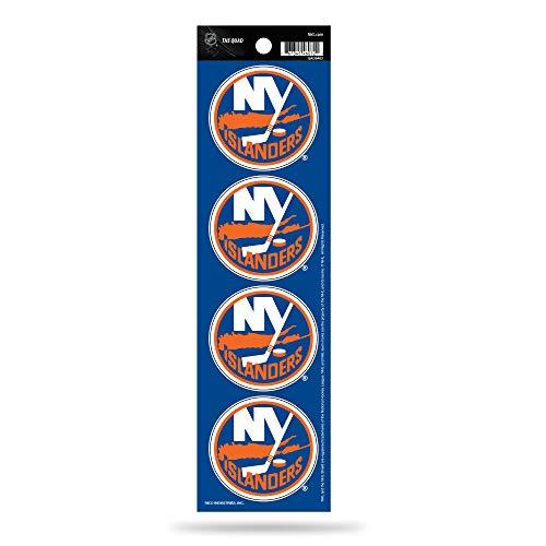 Rico Industries NHL New York Islanders Die Cut 4-Piece The Quad Sticker Sheet ()