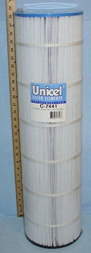 Unicel C-7441 Replacement Filter Cartridge for 147 Square Foot Jacuzzi, Cantar, Competition TC440 Tri-clops Replacement, Round