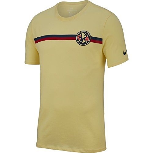 NIKE Club America Crest T-Shirt (Lemon Chiffon) Size Medium 5d78f921e