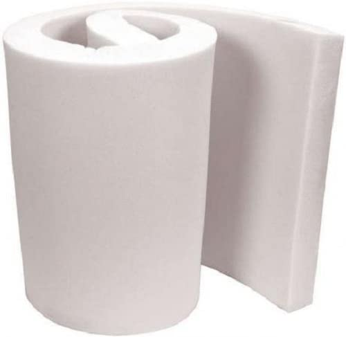 FoamTouch Upholstery Foam Cushion High Density 3 Height x 12 Width x 12 Length Made in USA