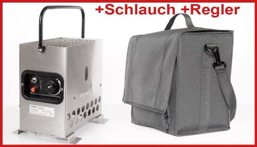 Heatbox 2000 Edelstahl 50 mbar mit Tasche