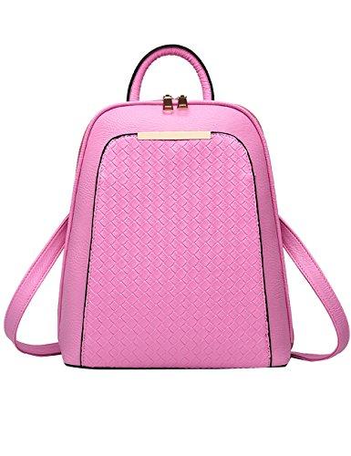 Menschwear - Sac à dos - Sac à dos - Sac à dos - Sac d'école - Argent rose