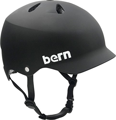 Bern Watts Matte Black by [X-Large] Skateboard Bern Helmet by Bern Black B0082AKJX8, belle belle:4509dd7e --- m2cweb.com