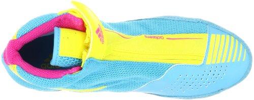 Adidas Brottning Mens Adizero Sydney Sko Kricka / Gul / Rosa