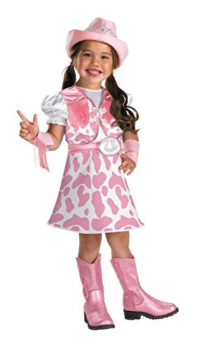 And Costumes Toddler Cowgirl Girls (Disguise Wild West Cutie Toddler Costume,)