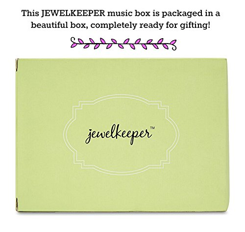 JewelKeeper Girl's Musical Jewelry Storage Box Pullout Drawer, Rainbow Unicorn Design,Somewhere Over The Rainbow Tune by JewelKeeper (Image #5)