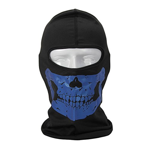 FakeFace Reflective Lightweight Breathable Face Protection Skull Mask Balaclava Motorcycle Scarf Face Neck Protective - - The Sunglasses For Face Your Right