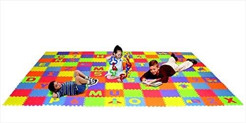 Edushape 079653 Letters44; Numbers44; And Puzzles Play Mat Set