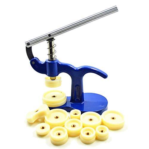 Bekith Watch Press Set/Watch Case Closer/Watch Repair Tool Kit with 12 Dies