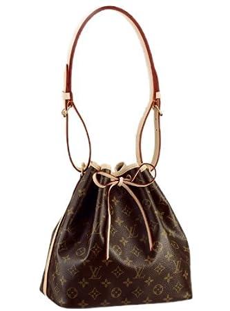 1e60e3f7e312 Image Unavailable. Image not available for. Color  Authentic Louis Vuitton  Women s Handbag Petit Noe ...