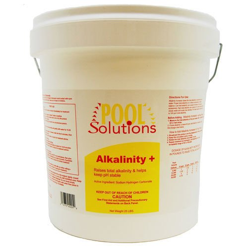 Pool Solutions Swimming Pool Total Water Alkalinity Plus Increaser 25LB P36025DE by Pool Solutions